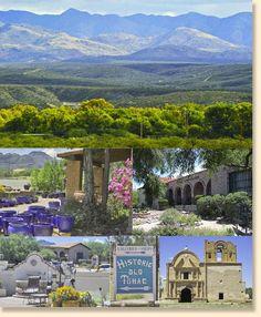 TUBAC: Arizona's 1st European settlement along the Santa Cruz River. Home of the fabulous Tubac Golf Resort & Tubac Country Inn www.arizonasunshinetours.com