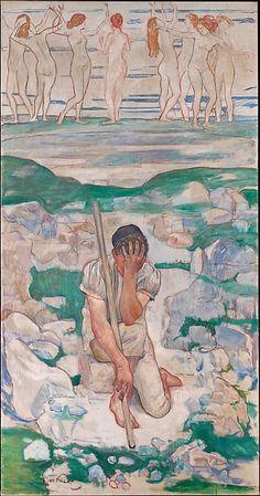 Ferdinand Hodler   The Dream of the Shepherd (Der Traum des Hirten)   The Met