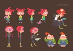 gingers.jpg  ✤ || CHARACTER DESIGN REFERENCES