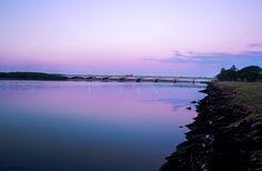 Umgeni River...after sunset