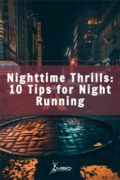 Running at night might be part of your training schedule but it can be dangerous! What can you do to reduce the risks? Read on to learn 10 tips for a safe and effective night run. #mbioapparel #running #runner Endurance Training, Race Training, Training Schedule, Marathon Gear, Marathon Training, Marathon Motivation, Training Motivation, Mental Toughness Training, Marathon Nutrition