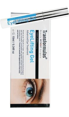 Transformulas EyeLifting Gel - $49. Click to buy. Eye Lift, Eye Treatment, Ageing, Anti Aging, Beauty, Products, Coming Of Age, Beauty Illustration, Gadget