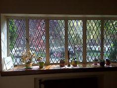 Diamond Pane Windows