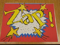 Polka Dot Spot: Roy Lichtenstein ONOMATOPOEIA Art
