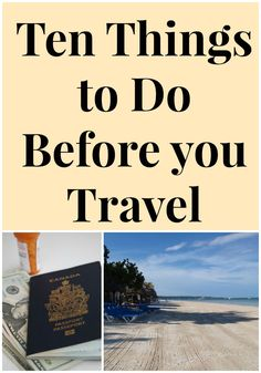 Ten Things to Do Before You Travel at Spring Break - Life In Pleasantville