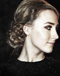 Saoirse Ronan's beautiful updo