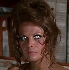 Claudia Cardinale in Once Upon a Time in the West (Sergio Leone, Claudia Cardinale, Italian Actress, French Actress, The Best Films, Great Films, Luchino Visconti, Westerns, Sergio Leone, Henry Fonda