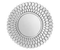 Настенное зеркало - стекло, Ø100см