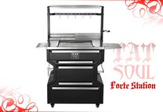 TATSoul Tattoo Furniture - Forte Workstation. I need me one of these babies