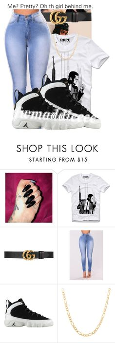"""""""•••"""" by fwmaddieeee ❤ liked on Polyvore featuring Gucci and Sterling Essentials"""