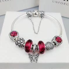 Now available in our store: pandora charm bra...check it out here! http://www.charmsilvers.com/products/pandora-charm-bracelet-with-7-pcs-charms-1?utm_campaign=social_autopilot&utm_source=pin&utm_medium=pin