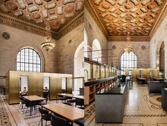 Abandoned 1920s bank is transformed into a luxurious coworking space