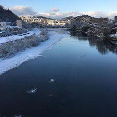 仙台は初積雪でしたヽ(´ー`) #東亜和裁 #東亜 #雪 #積雪