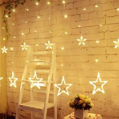 Cheap fairy lights, Buy Quality christmas lights for home directly from China star light string Suppliers: Christmas Holiday Lights EU 8 Modes Fairy Star Led Curtain String Lights For Party Wedding New Year Garland Decoration Star String Lights, White String Lights, Icicle Lights, Led Fairy Lights, String Lighting, Star Lights, Light String, Light Led, Night Light