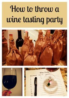 How to Throw a Wine Tasting Party -Momo
