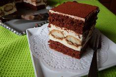 Tiramisu szelet Recept képpel - Mindmegette.hu - Receptek Tiramisu, Hungarian Recipes, Eat, Ethnic Recipes, Foods, Mascarpone, Food Food, Food Items, Tiramisu Cake