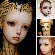 LOVE @naoto_hattori's work! Then you will LOVE his 12 page feature in beautiful.bizarre issue 012  Get your copy of beautiful.bizarre art quarterly  IN PRINT & DIGITAL: http://ift.tt/IUsDuk IN PRINT VIA OUR STOCKISTS: http://ift.tt/ZtVEFU by beautifulbizarremagazine