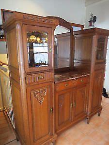 Buffet Antique Mobilier De Salon Achat Antiquite