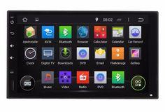 "7"" 1024*600 Quad Core Android 7.1.1 Fit Hyundai GETZ,Click,Getz Prime,TB 2002 -2010 2011 2012 Car DVD Player GPS Radio AUDIO DVD #Affiliate"