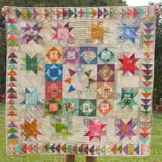 Sew Scatterbrained: Solstice Medallion Quilt Pattern - FREE!
