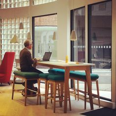 Our Lucca workbench allows for both collaborative and independent working Portland London 2016, Retail Space, Lucca, Portland, Furniture Design, Spaces, Lights, Table, Home Decor