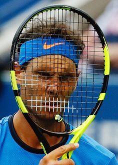 Lucas Pouille Vs Nadal 1/8 eme Us Open 2016  6-1, 2-6, 6-4, 3-6, 7-6