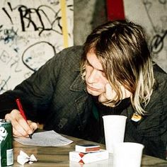 Smells like Kurt Cobain
