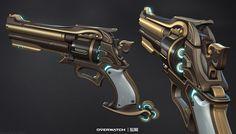 ArtStation - McCree's Revolver, Kyle Rau