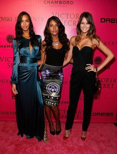 Lais Ribeiro(L) - Victoria's Secret Fashion Show 2011 Afterparty