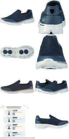 5bb82d1ae237 Skechers Men s Go Walk 4 Low-top Sneakers Blue (nvgy) 9 Uk 43
