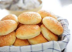 Zachte hamburger brood | Kookmutsjes