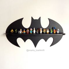 Shelf Batman in x 13 in) DIMENSIONS: height – 33 сm inches) width – 61 сm inches) depth – 10 cm inches) If you need a different size or color, i can do it)) Ideal for children or fans of comic book characters. You can hang it on the wall for . Wooden Shelves, Wall Shelves, Wooden Crafts, Diy And Crafts, Wooden Diy, Wood Projects, Woodworking Projects, Woodworking Machinery, Woodworking Lathe