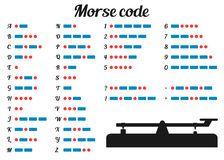 Code Morse Numéro 0-9 - Télécharger parmi plus de 47 Millions des photos, d'images, des vecteurs et . Inscrivez-vous GRATUITEMENT aujourd'hui. Image: 11443189