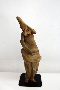 """Driftwood-art:  """"der Kalli"""" by Dr. İftwood, via Flickr"""