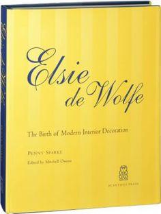 Elsie de Wolfe Interior Design Books, Book Design, Interior Decorating, Decorating Ideas, I Love Books, Books To Read, My Books, Elsie De Wolfe, Famous Names