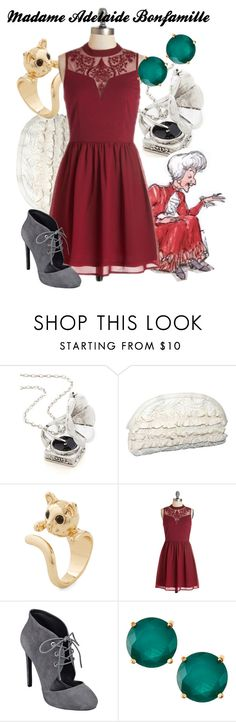 """Madame Adelaide Bonfamille"" by amarie104 ❤ liked on Polyvore featuring Magid, Nine West and Greenbeads"