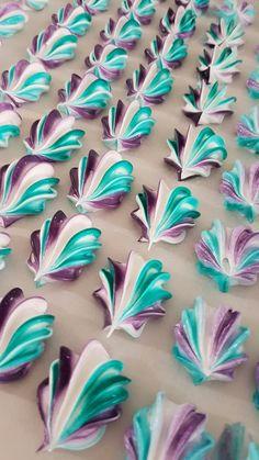 Seashell Meringues