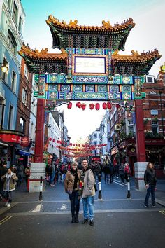 London Travel Photos - Chinatown