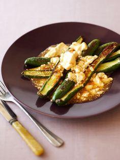 【ELLE a table】干しきゅうりのステーキ しょうが豆腐あんかけレシピ|エル・オンライン