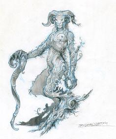 Las Criaturas del Laberinto del Fauno