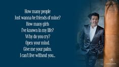 Thomas Anders - Why Do You Cry ( Lyrics ) Cant Live Without You, Living Without You, How Many People, You And I, Crying, My Life, Give It To Me, Lyrics, Music