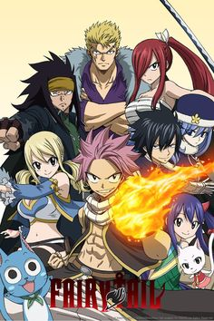 Fairy Tail Anime ENG-Sub