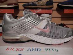 3727cd2c8f27 2008 Nike Air Miler Walk + Running Shoes 321520-161 Women s SIZE 9 Pink Gray
