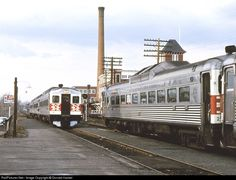 RailPictures.Net Photo: NH 2 New York, New Haven & Hartford Railroad Budd RDC at Norwood Central, Massachusetts by Donald Haskel