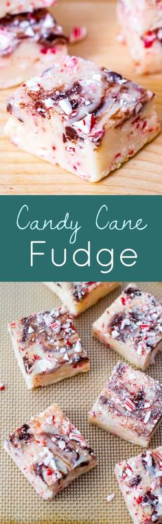 Easy chocolate swirled fudge filled peppermint and candy canes. 10 minutes, 5 ingredients!