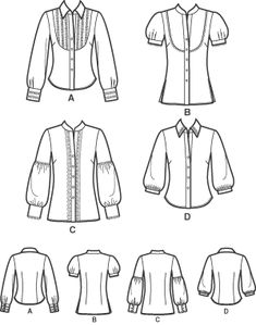 Fashion drawing plus size sewing patterns 52 Ideas Plus Size Sewing Patterns, Clothing Patterns, Dress Patterns, Shirt Patterns, Blouse Tutorial, Sewing Clothes Women, Doll Clothes, Sewing Accessories, Top Pattern