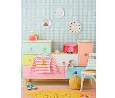 DIY kids dresser ideas | 100 Layer Cakelet  Ikea PS 2012
