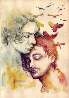 This is amazing Larry Stylinson fan art omfg I can't even