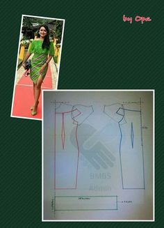 Sexy dresd off shoulders Easy Sewing Patterns, Clothing Patterns, Dress Patterns, Dress Pesta, Bodice Pattern, Pattern Drafting, Pattern Illustration, Pattern Making, Pattern Fashion