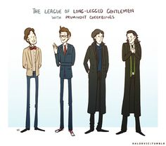 The League of Long-Legged Gentlemen with Prominent Cheekbones